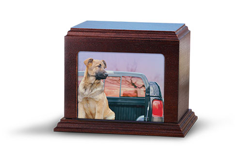 Photo Urn- Mahogany Image