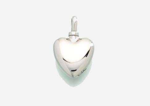 Small Heart Pendant- Sterling Silver Image