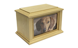 Photo Frame Urn- Maple Image