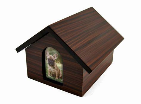 Dog House Urn- Brown Image