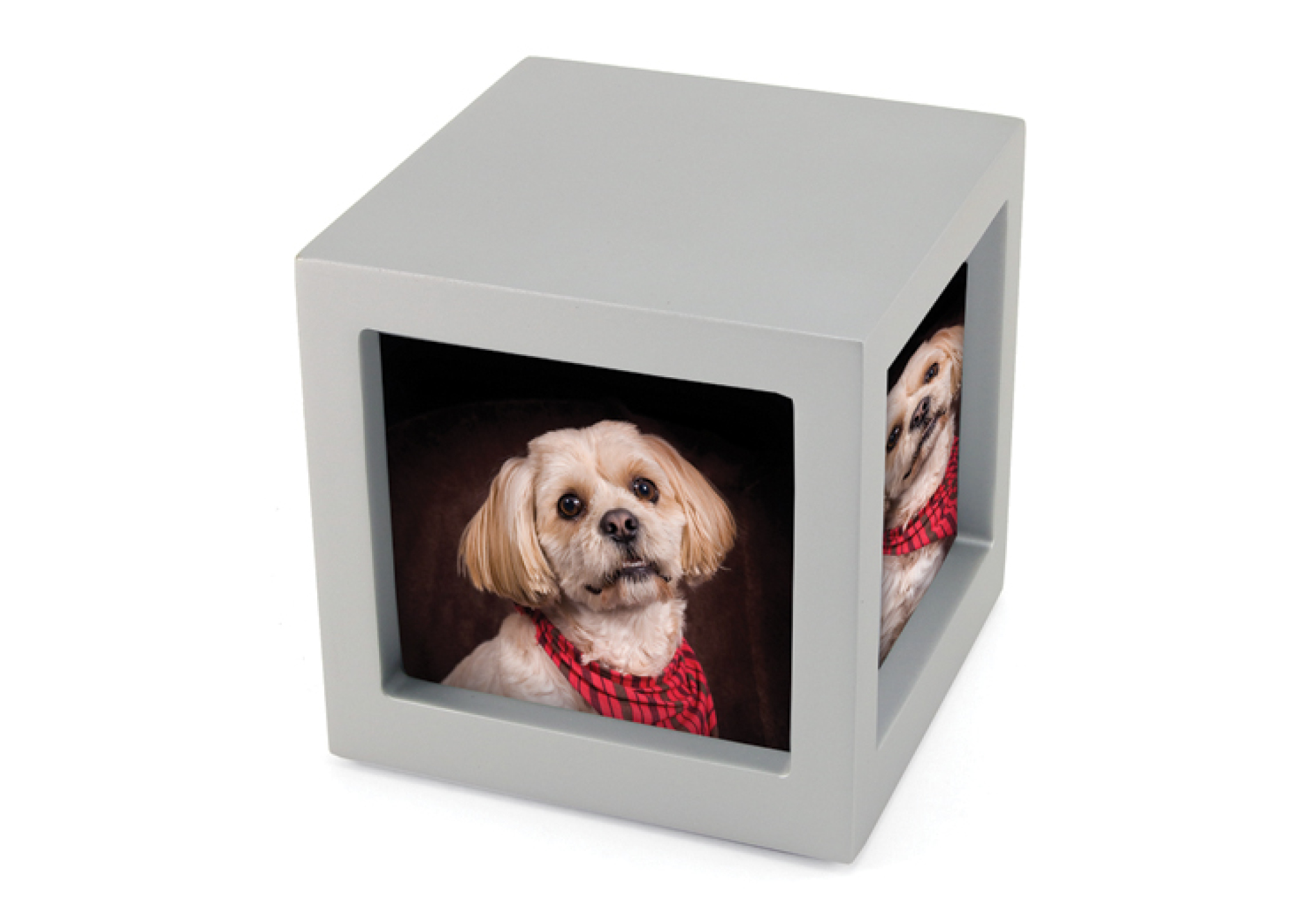 Photo Cube- Silver Image